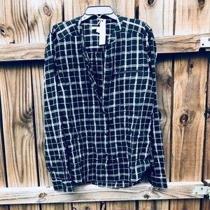 Calvin Klein Jeans Zippered - Pocket Plaid shirt